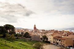 Взгляд St Tropez стоковая фотография