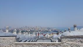 Взгляд Stanbul панорамный стоковое фото