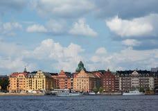 взгляд stockholm Стоковое Изображение