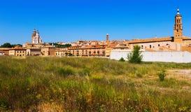 Взгляд Tarazona, Испании Стоковая Фотография RF