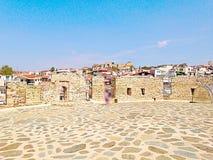 Взгляд thessaloniki наверху белой башни Стоковое Изображение