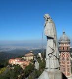 Взгляд Tibidabo Стоковая Фотография