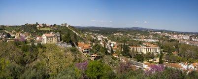 Взгляд Tomar Португалии Стоковые Изображения RF