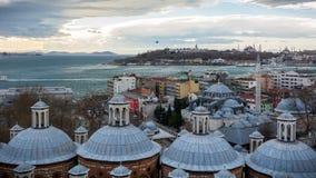Взгляд Tophane Стамбула стоковые изображения rf