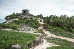 Взгляд Tulum Стоковая Фотография RF