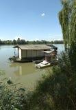 взгляд valentino turin реки piedmont po парка стоковая фотография rf