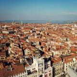 Взгляд Venezia к северозападу от колокольни Сан Marco Стоковая Фотография RF