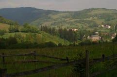 Взгляд Walim деревни Польши Стоковое фото RF