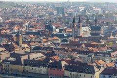 Взгляд Wurzburg, Германии. стоковые фотографии rf