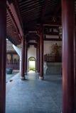 Взгляд Xiuzhen строба Jiaxing Wuzhen восточного Стоковые Изображения RF
