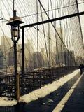 взгляд york города моста новый Стоковые Фото