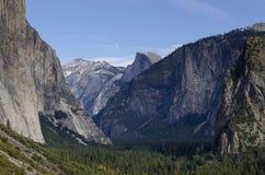 Взгляд Yosemite Стоковое Изображение