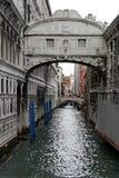 вздохи venice Италии моста Стоковое фото RF