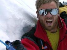 вздохните альпинистом Стоковая Фотография