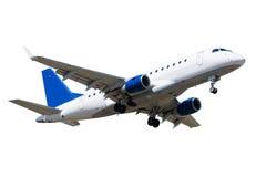 взлет самолета Стоковая Фотография