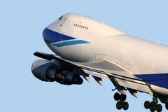 взлет 747 Стоковое Фото