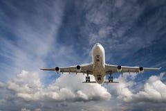 Взлет Airplaner Стоковые Изображения