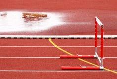 взлётно-посадочная дорожка барьера Стоковая Фотография RF