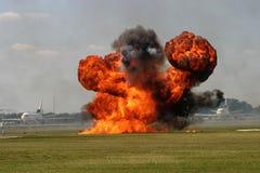 взлётно-посадочная дорожка взрыва Стоковые Изображения RF