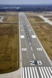 взлётно-посадочная дорожка посадки Стоковое Изображение RF