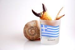 взморье Греции привлекательностей Стоковые Фото