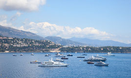 Взморье, Монако стоковое изображение rf