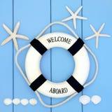 Взморье Lifebuoy Стоковая Фотография RF