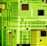 взойдите на борт электронного Стоковое Изображение RF