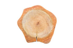 взойдите на борт вырезывания деревянного Стоковые Изображения RF