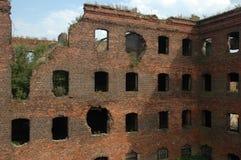 взорванная дом стоковая фотография