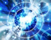 взорвите предпосылку вселенной Стоковые Фото