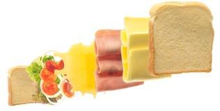 Взрезывание сандвича Стоковые Изображения RF