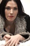 взрослая женщина обнажённого Стоковое Изображение