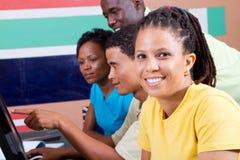 взрослые студенты группы стоковая фотография