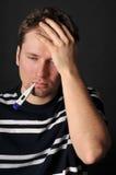 взрослый больной Стоковая Фотография RF