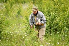 взрослый цветет рудоразборка человека Стоковая Фотография