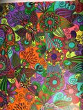 Взрослая расцветка Стоковое Фото