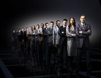Взрослая черная связь коллеги камеры предпринимателей бизнесмена дела босса Стоковая Фотография RF