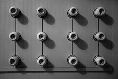 Взрыватели винтажной штепсельной вилки керамические Стоковое фото RF