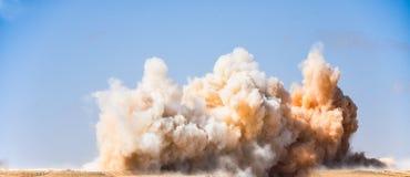 Взрывать в горнодобывающей промышленности стоковое изображение rf