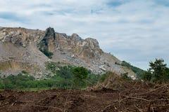 Взрывать, серебряный - металл, золото, Австрия, карьер стоковое фото rf