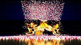 Взрывая конспект золота черепов иллюстрация штока