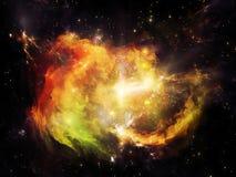 Взрывая межзвёздное облако Стоковые Изображения RF