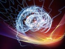 Взрывая разум Стоковые Фотографии RF