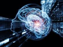 Взрывая разум Стоковые Изображения RF