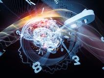Взрывая разум Стоковая Фотография RF