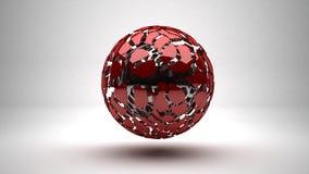 Взрывая сфера Стоковые Фотографии RF