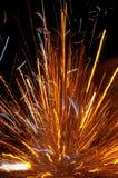 взрывая фейерверк Стоковые Фотографии RF