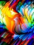 Взрывая цвет Стоковые Фото