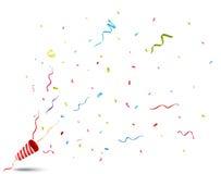 взрывая popper партии бесплатная иллюстрация